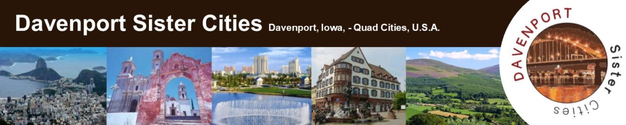 Davenport Sister Cities, Davenport, Iowa, Quad Cities, U.S.A